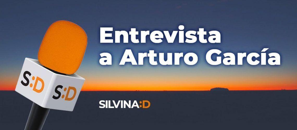 Banner Entrevista a Arturo Garcia